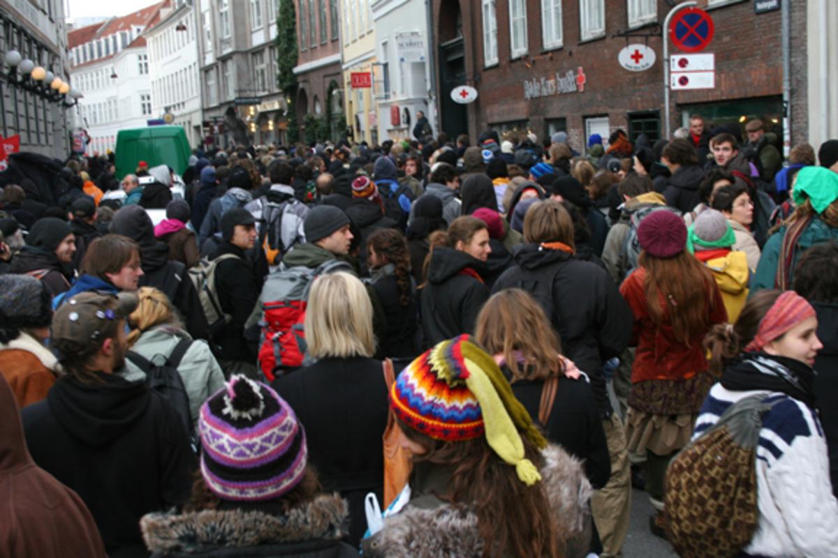 Στους δρόμους και η Δανία κατά των μέτρων λιτότητας   Newsit.gr