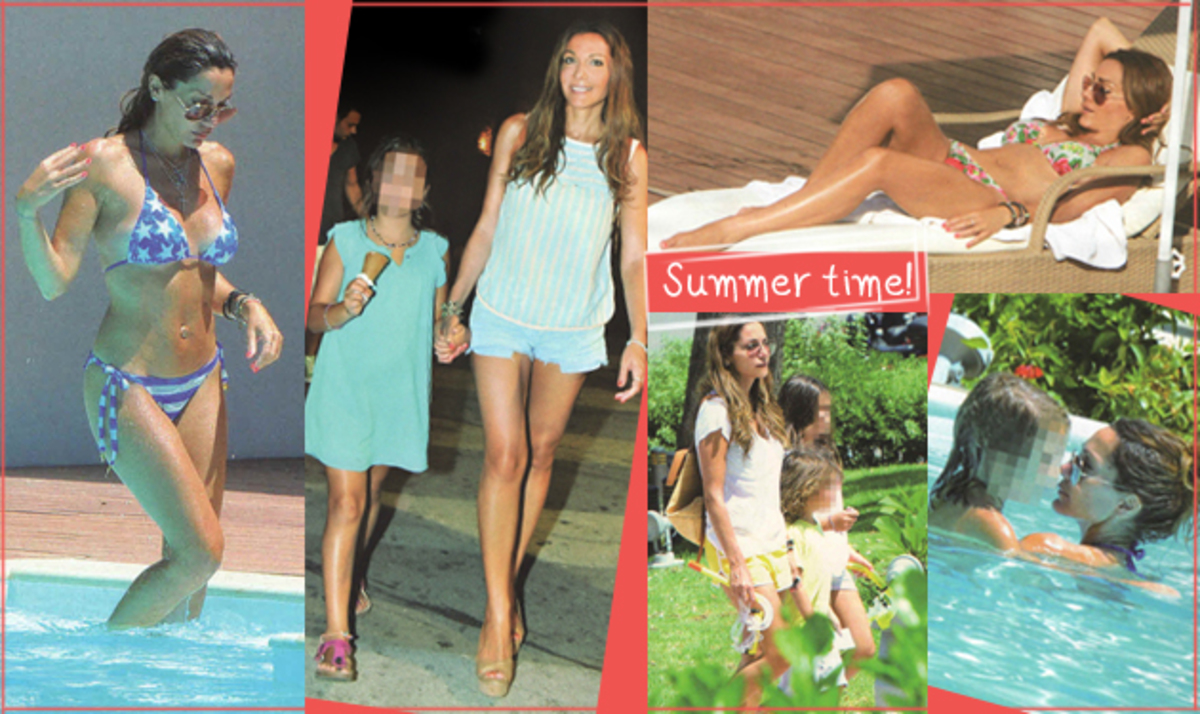 Δ. Βανδή: Διακοπές με τα παιδιά της στη Ρόδο! Φωτογραφίες | Newsit.gr