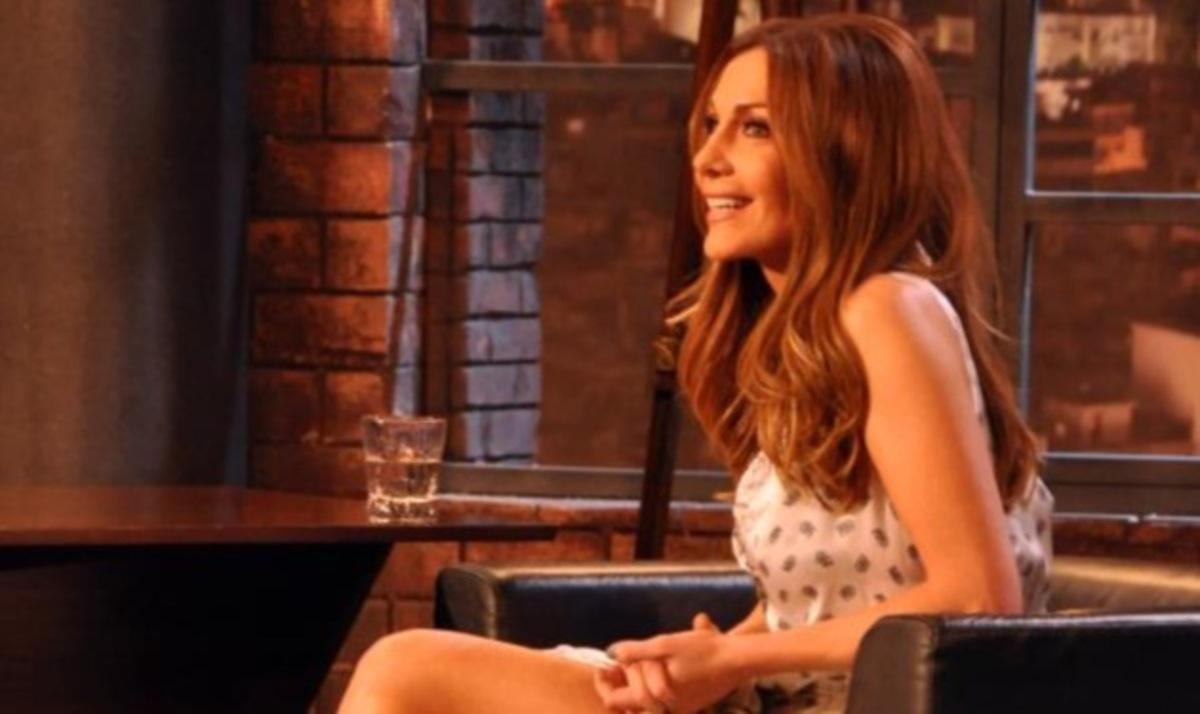 Δ. Βανδή: Η sexy εμφάνιση και όσα αποκάλυψε στον Π. Κωστόπουλο! Backstage φωτογραφίες | Newsit.gr