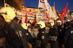 «Έξω ο Φούχτελ»! Διαμαρτυρία με Λαφαζάνη και Μακρή στο Ναύπλιο [pics,vid]