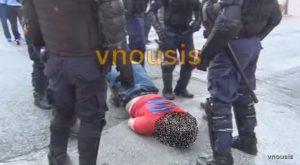Καμία ΕΔΕ για τον ξυλοδαρμό διαδηλωτή – Ήταν αγχωμένος… ΒΙΝΤΕΟ