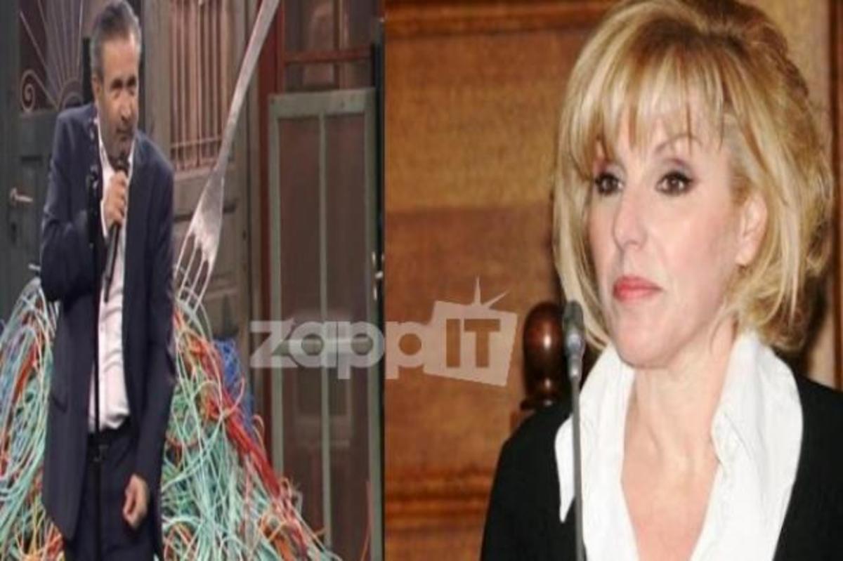 Η Πόπη Διαμαντάκου ξεσπά κατά του Λαζόπουλου!   Newsit.gr