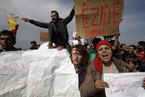 Πρόσφυγες έκλεισαν την εθνική οδό στο Κιλκίς – Διαμαρτυρία και στο τελωνείο Ευζώνων