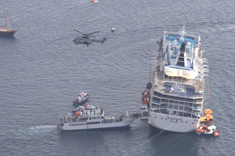 Άρχισε η δίκη για το ναυάγιο του Sea Diamond | Newsit.gr