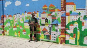 Μια πολύχρωμη πόλη στην αυλή του γυναικείου τμήματος των φυλακών Διαβατών [pics]