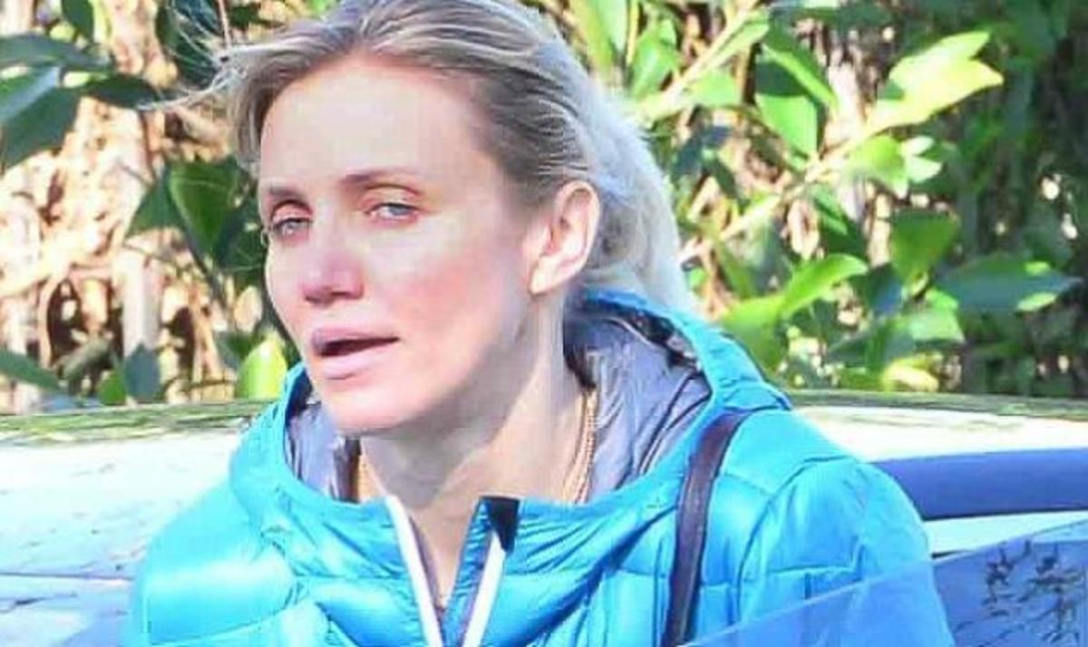 Cameron Diaz: Κουρασμένη και χωρίς μακιγιάζ μετά το γυμναστήριο. Φωτογραφίες | Newsit.gr
