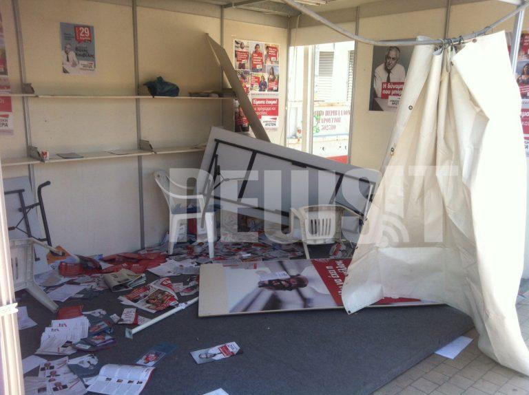 Έκαψαν εκλογικά περίπτερα και μια… Mercedes   Newsit.gr