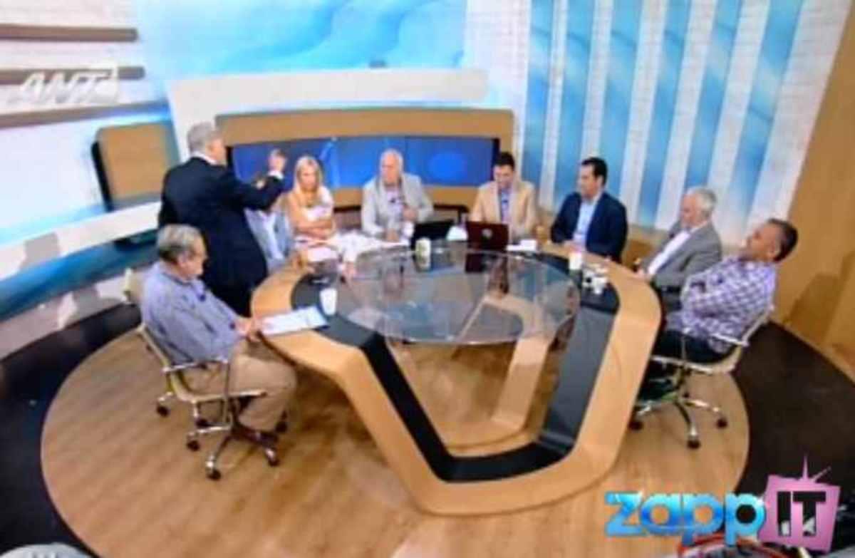 Έξαλλος ο Γιάννης Δημαράς με τον Γιώργο Παπαδάκη! Αποχώρησε από την εκπομπή! (ΒΙΝΤΕΟ) | Newsit.gr