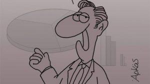 Εκλογές και δημοσκοπήσεις: Το σκίτσο του Αρκά που σαρώνει στο ίντερνετ