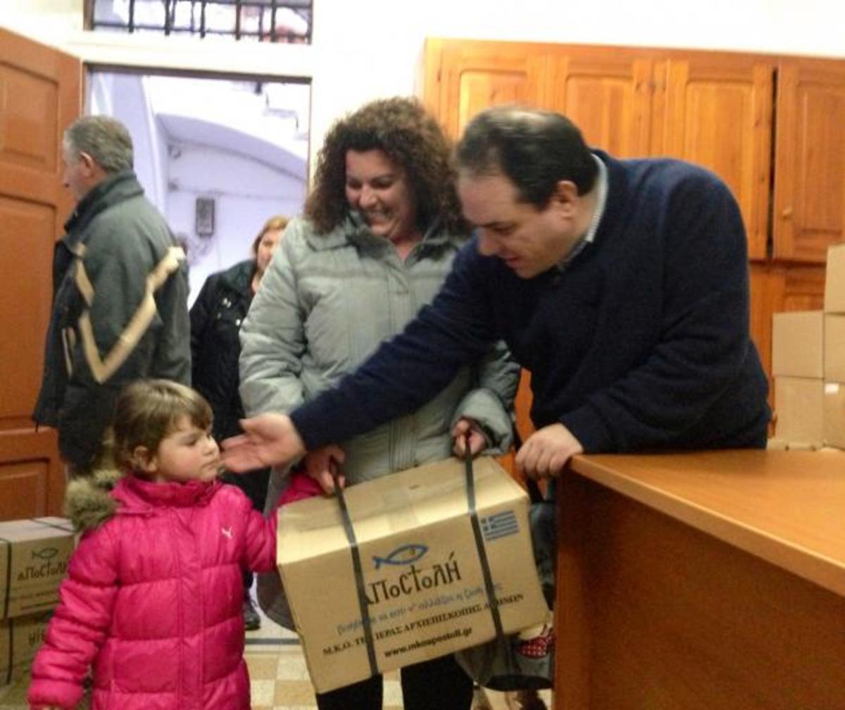 Πετρέλαιο σε ιδρύματα 15 νομών δίνει η Αποστολή της Εκκλησίας | Newsit.gr