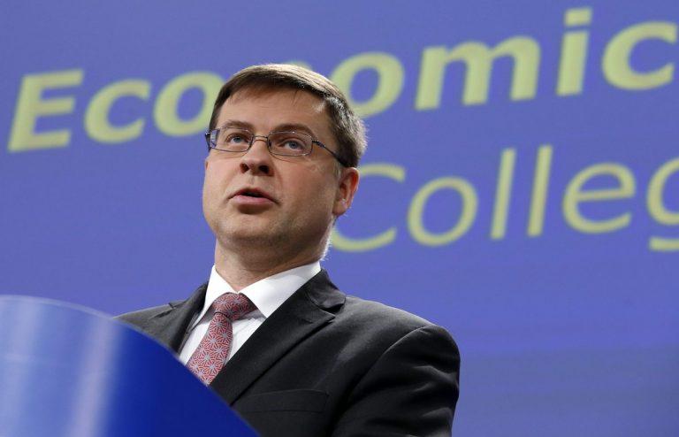 Ντομπρόφσκις: Η ελληνική οικονομία ανακάμπτει αλλά προσέξτε τα κόκκινα δάνεια | Newsit.gr