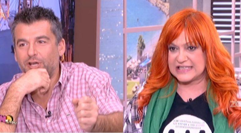 Ο Γιώργος Λιάγκας ρώτησε την Τζόυς Ευείδη για το σεξουαλικό βοήθημα που έβαλε κάτω από το χριστουγεννιάτικο δέντρο! | Newsit.gr