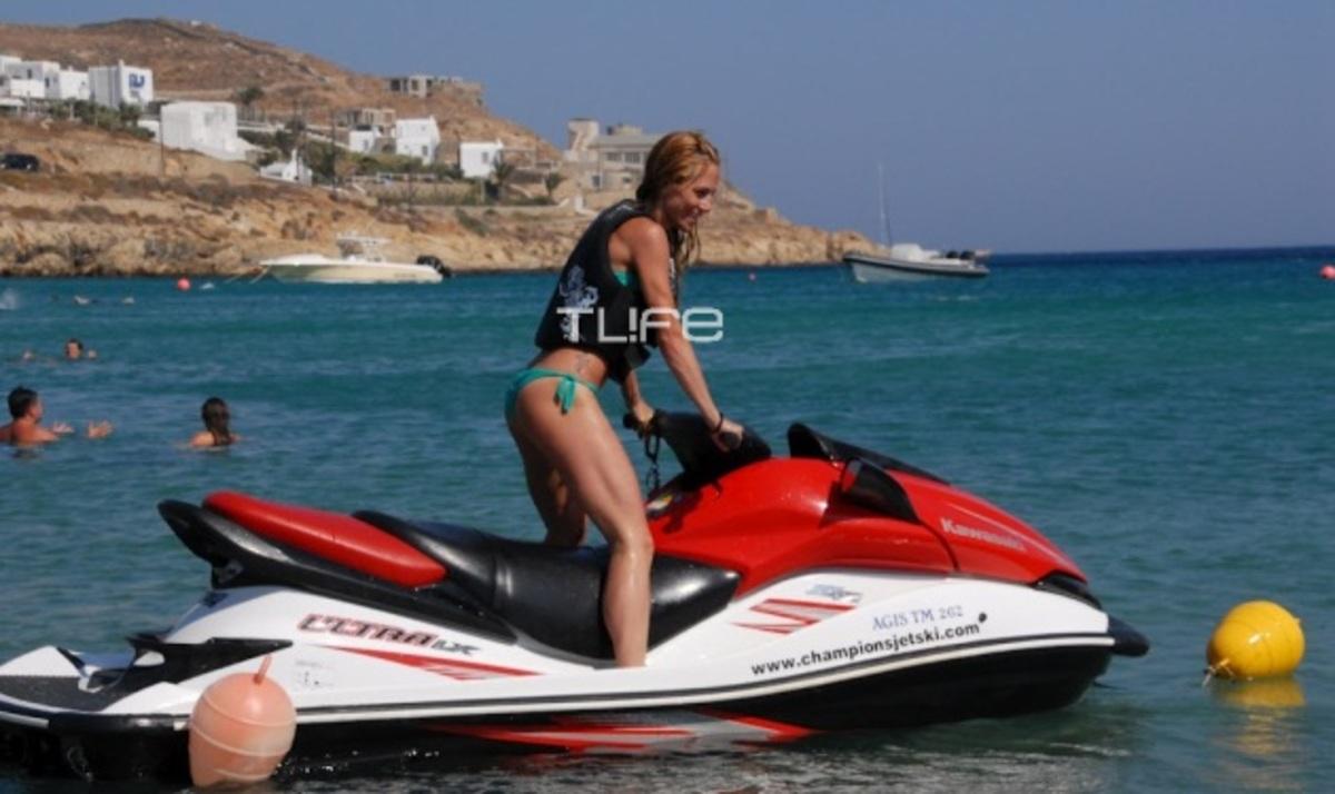 Ντ. Παπαδημητρίου: Εντυπωσιάζει με τις επιδόσεις της στα θαλάσσια σπορ! | Newsit.gr