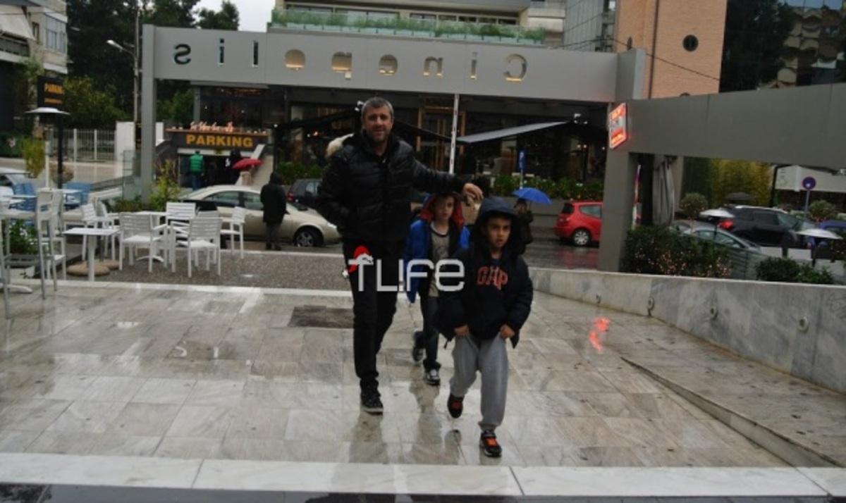 Κ. Πηλαδάκης: Όμορφες στιγμές με τα παιδιά του! | Newsit.gr