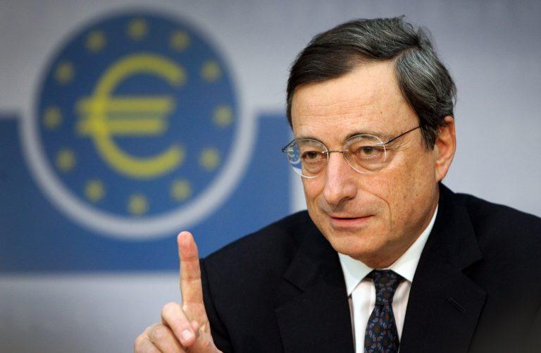 «Τα μαύρα σύννεφα πάνω από την Ευρωζώνη υποχώρησαν», είπε ο πρόεδρος της ΕΚΤ | Newsit.gr