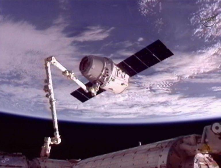 Το πρώτο ιδιωτικό διαστημικό σκάφος έφτασε στο Διεθνή Διαστημικό Σταθμό -ΦΩΤΟ | Newsit.gr