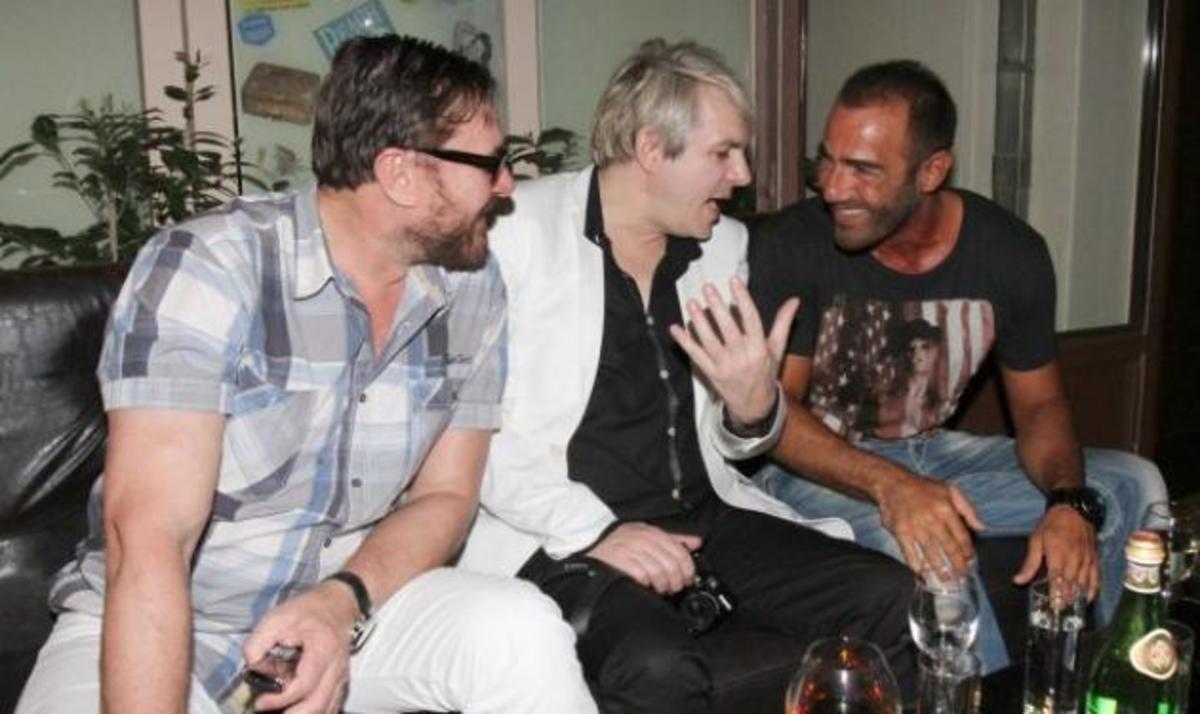 Όταν ο Αντώνης Κανάκης, συνάντησε τους Duran Duran! Φωτογραφίες   Newsit.gr
