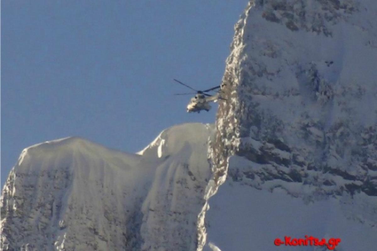 Γιάννενα: Στο »κόκκινο» η αγωνία για τον αγνοούμενο ορειβάτη – Σηκώθηκε και ελικόπτερο! | Newsit.gr