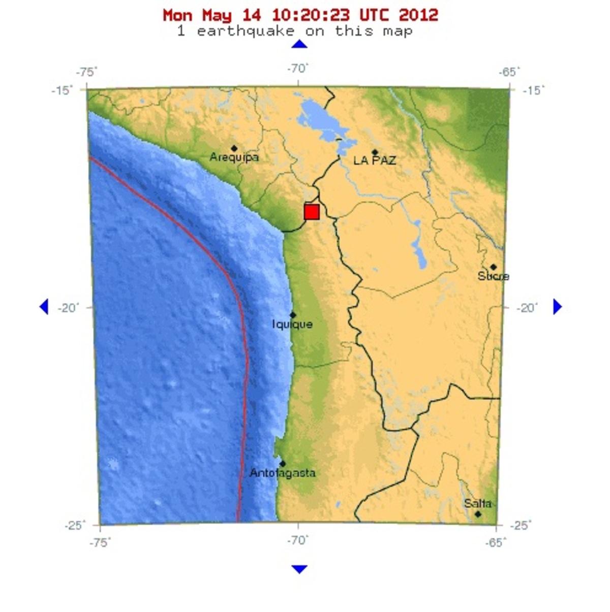 Δυο σεισμοί σε Χιλή – Περού | Newsit.gr