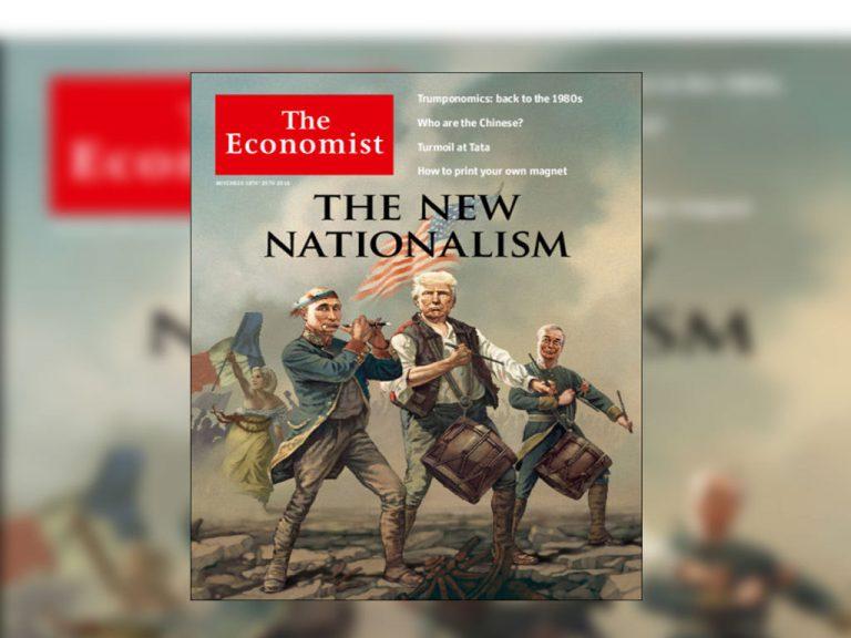 Economist: Όλος ο εθνικισμός σε ένα συγκλονιστικό πρωτοσέλιδο   Newsit.gr