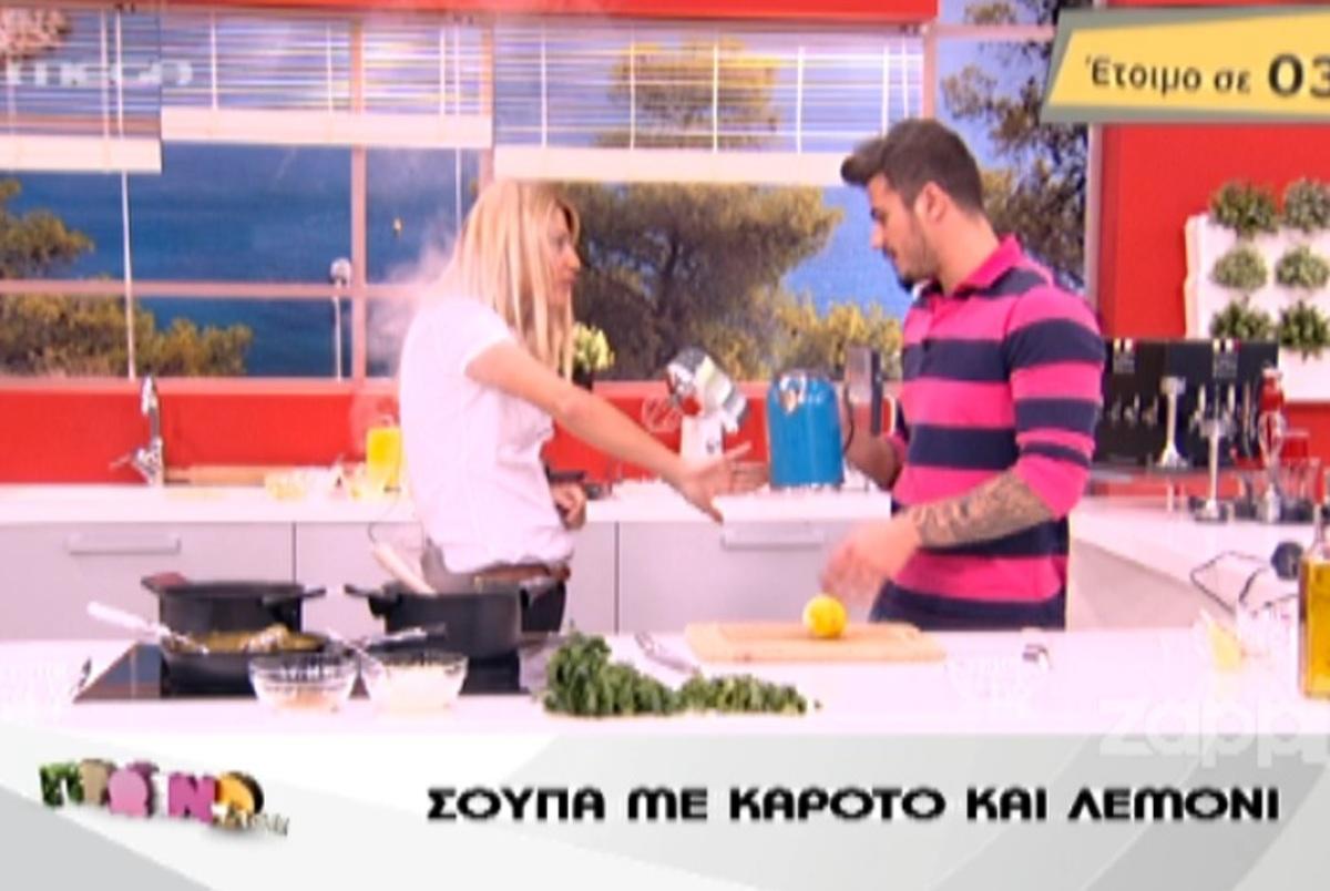 Ο Πετρετζίκης ζεμάτισε τη Σκορδά με τον βραστήρα! | Newsit.gr