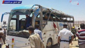 """Φρίκη στην Αίγυπτο: """"Γάζωσαν"""" Χριστιανούς Κόπτες! Παιδιά ανάμεσα τους νεκρούς"""