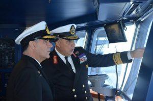 Ολοκληρώθηκε η επίσημη επίσκεψη του Αρχηγού Ναυτικού στην Αίγυπτο