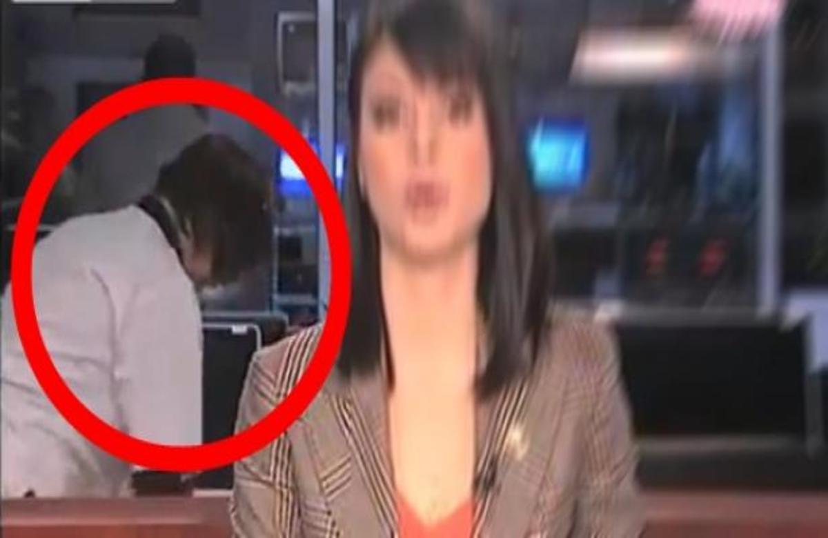 Καθαρίστρια μπήκε στο δελτίο ειδήσεων! | Newsit.gr