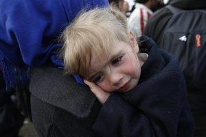 Έληξε η διαμαρτυρία των προσφύγων στις σιδηροδρομικές γραμμές στην Ειδομένη – ΦΩΤΟ