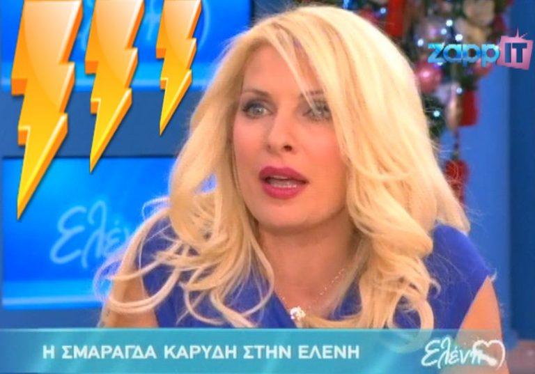 Ο τίτλος που εξόργισε την Μενεγάκη με την καλεσμένη της Σμαράγδα Καρύδη! | Newsit.gr
