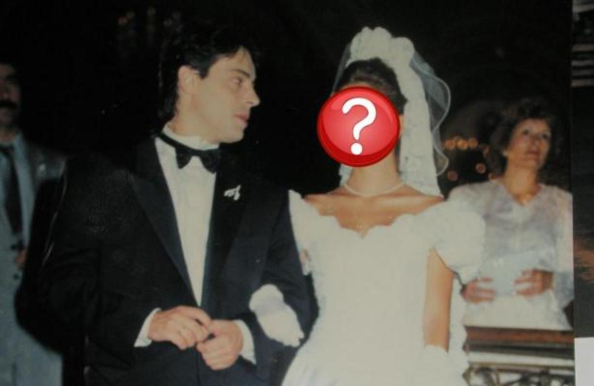 ΣΟΚ! Δείτε την Ελένη Μενεγάκη στον πρώτο της γάμο!   Newsit.gr