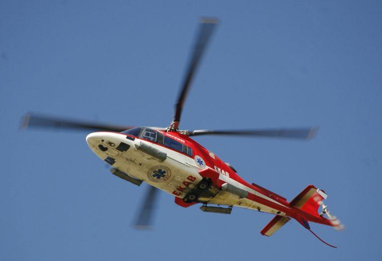 Στον αέρα πάλι τα ελικόπτερα το ΕΚΑΒ   Newsit.gr