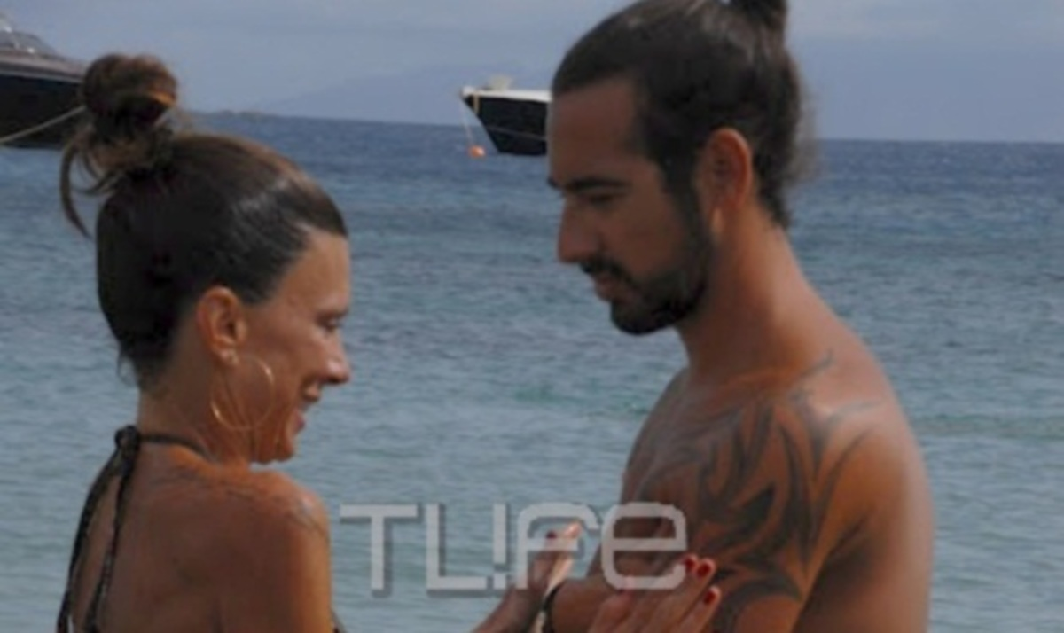 Ε. Καντζά: Τρυφερές στιγμές με τον σύντροφό της και τελευταίες βουτιές στη Μύκονο! | Newsit.gr