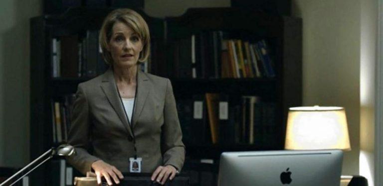 """""""Έφυγε"""" γνωστή ηθοποιός του House of Cards"""