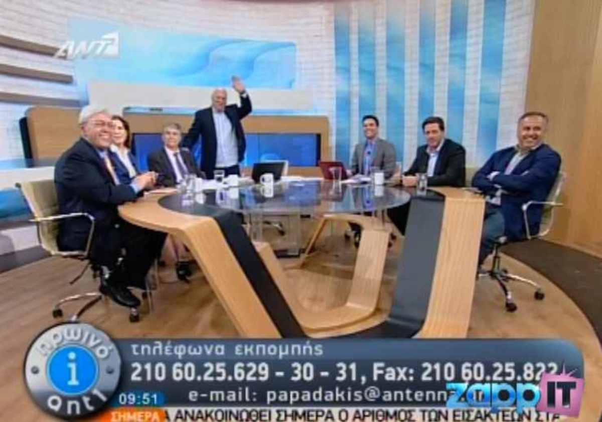 Ο Γιώργος Παπαδάκης χαιρέτησε με …Καλημέρα Ελλάδα! | Newsit.gr