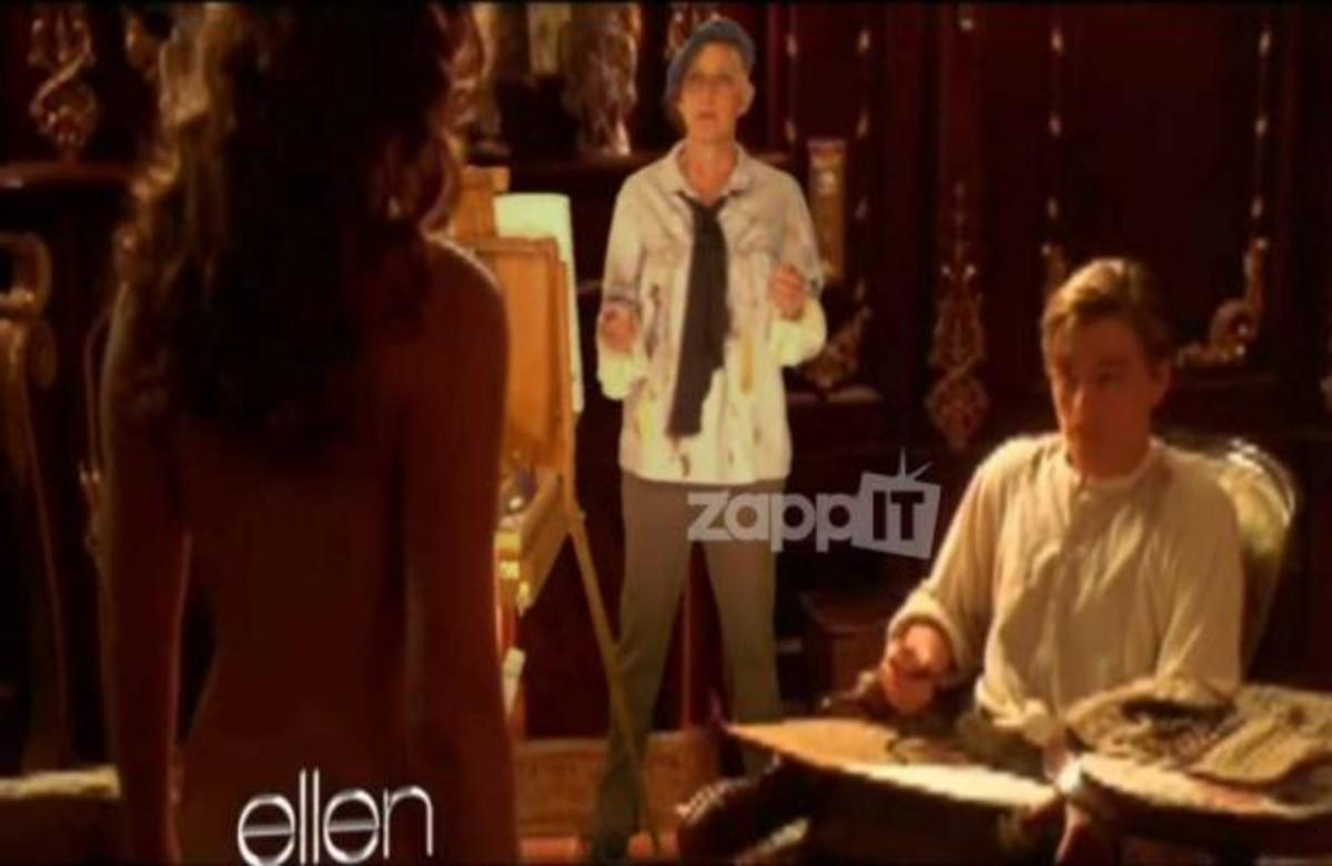 H Ellen DeGeneres πρωταγωνιστεί στην 3D έκδοση του Τιτανικού! | Newsit.gr