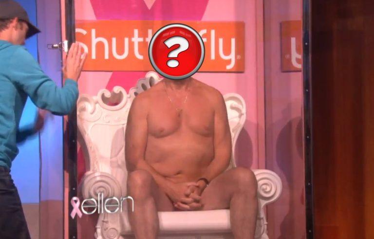 Απίστευτο! Πασίγνωστος ηθοποιός έβγαλε τα ρούχα του για 20,000 δολάρια στην εκπομπή της Ellen Degeneres! | Newsit.gr