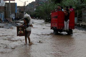 «Ραπίζει» το Περού το φαινόμενο Ελ Νίνιο! Συγκλονιστικές εικόνες καταστροφής