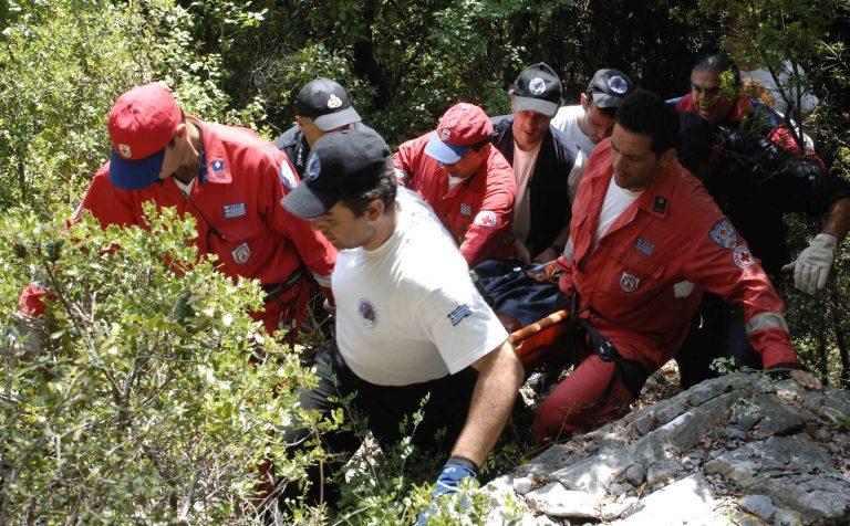 Eπιχείρηση διάσωσης τραυματία στα Λιβαδιώτικα Όρη | Newsit.gr