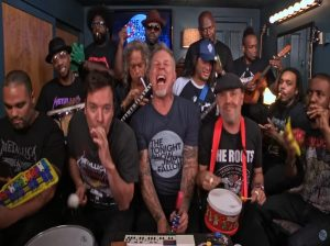 "Jimmy Fallon, Metallica και το ""εκρηκτικό"" Enter Sandman με… καραμούζες! [vid]"