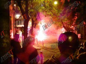 Live – 17 Νοέμβρη 2015: Έσπασαν αυτοκίνητο και το «έριξαν» στους αστυνομικούς! Νύχτα κόλασης στα Εξάρχεια!