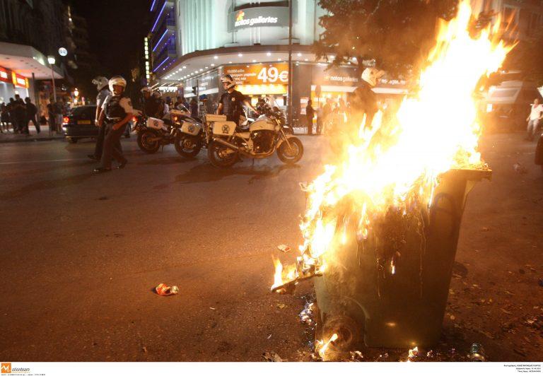 Σοβαρά επεισόδια στην πορεία του Ηρακλή | Newsit.gr