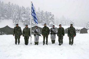 Επίσκεψη αστραπή του Αρχηγού ΓΕΣ σε μονάδες και Σχηματισμούς του Στρατού Ξηράς