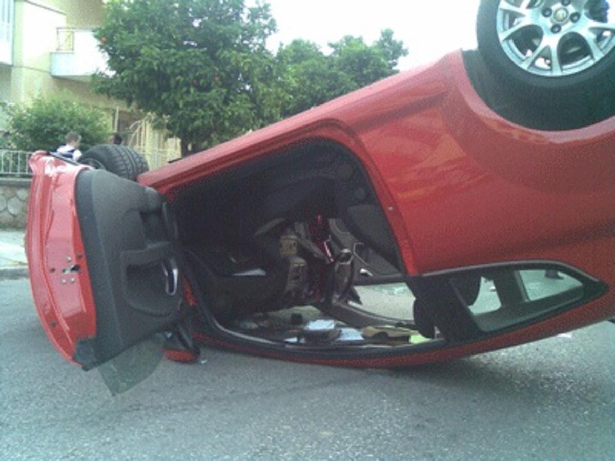 Ρέθυμνο: Αναποδογύρισε αυτοκίνητο κοντά στην Επισκοπή | Newsit.gr