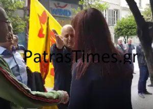 Πάτρα: Σπρωξιές μεταξύ της Προέδρου του Εργατικού Κέντρου και συνδικαλιστή της ΛΑΕ [vids]