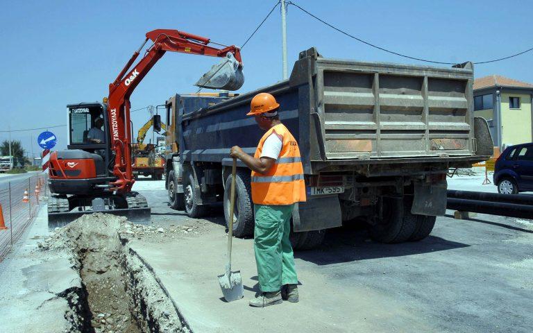 Εργασίες στην οδό Πειραιώς στον κόμβο Χαμοστέρνας   Newsit.gr