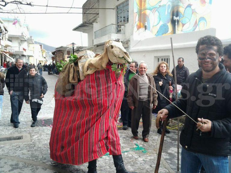 Ηράκλειο: Ξεφάντωμα με τα «Αποκριγιώματα» στη Γέργερη – ΦΩΤΟ | Newsit.gr