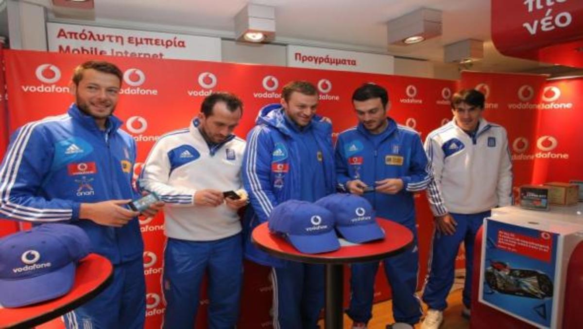 Στους αγώνες της Εθνικής όλοι οι συνδρομητές Vodafone μιλάνε Δωρεάν! | Newsit.gr