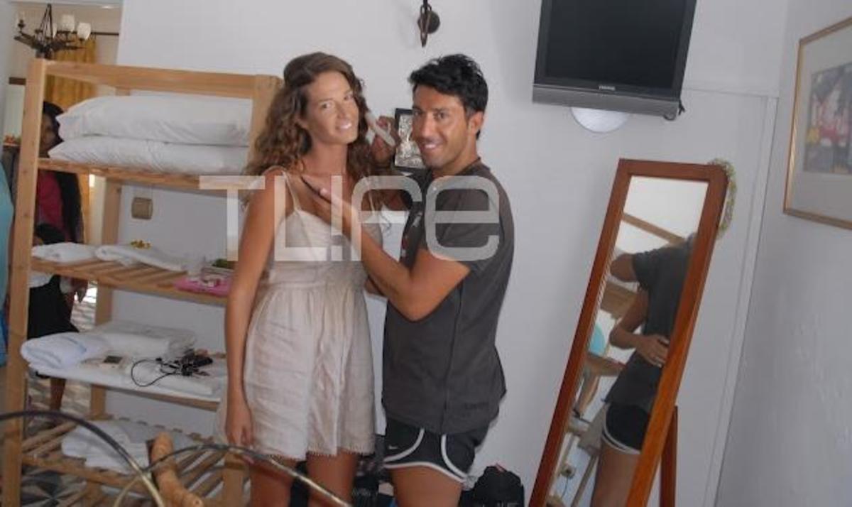 Eύα Λάσκαρη: Οι προετοιμασίες και το μακιγιάζ της νύφης λίγο πριν το γάμο! Φωτογραφίες! | Newsit.gr