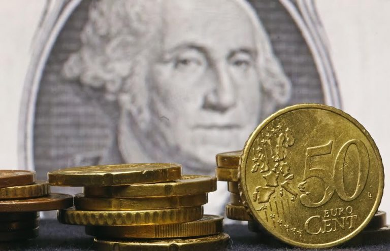 Mικρή διακύμανση εμφανίζει η ισοτιμία ευρώ/δολαρίου   Newsit.gr